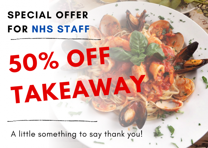 50% off NHS Workers